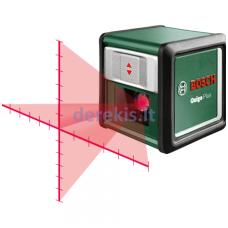 """Kryžminių linijų lazeris BOSCH """"Quigo Plus"""", 0603663600"""