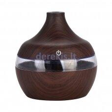 Kvapų difuzorius Zyle Aroma HZ003DW, 300 ml, tamsus medis
