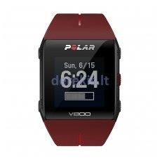 Laikrodis Polar V800 (raudonas)