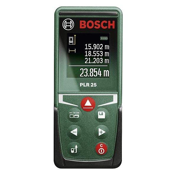 Atstumų matuoklis su Bluetooth ir liečiamuoju ekranu BOSCH PLR 50 C