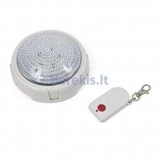 """LED šviestuvas su nuotolinio valdymo pulteliu """"Remote brite light"""" Q30"""