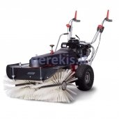 Motor sweeping machines