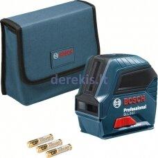 Linijinis lazerinis nivelyras Bosch GLL 2-10 Professional 0601063L00