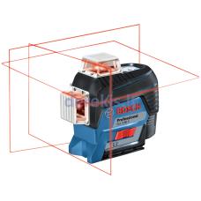 Linijinis lazerinis nivelyras Bosch GLL 3-80 C Professional, 0601063R01