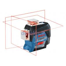 Linijinis lazerinis nivelyras Bosch GLL 3-80 C Professional 0601063R03