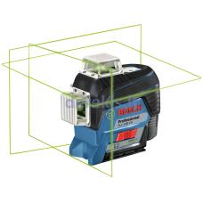 Linijinis lazerinis nivelyras Bosch GLL 3-80 CG Professional, 0601063T00