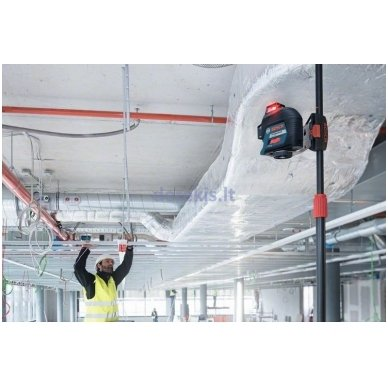 Linijinis lazerinis nivelyras Bosch GLL 3-80 Professional, 0601063S00 3