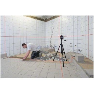 Linijinis lazerinis nivelyras Bosch GLL 3-80 Professional, 0601063S00 4