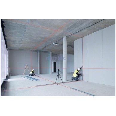 Linijinis lazerinis nivelyras Bosch GLL 3-80 Professional, 0601063S00 2