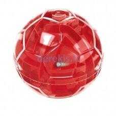 Loginis žaidimas - labirintas kamuolys, raudonas