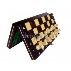Magnetiniai šachmatai Magnetic School 260x130x40mm, karalius 50mm