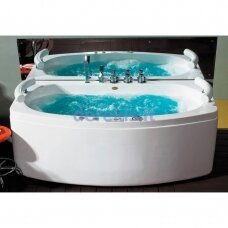 Masažinė vonia su oro ir hidromasažu, 170cm, B1790-1