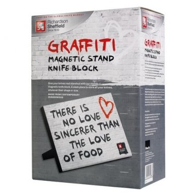 "Magnetinis laikiklis peiliams Richardson Sheffield  ""Graffiti"" 2"