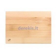 Cutting board G21 beech 350 x 250 x 25 mm