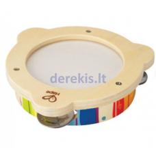 Medinis tamburinas Hape E0607