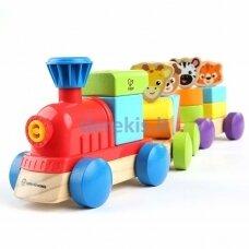 Medinis traukinukas HAPE Baby Einstein's, 800809