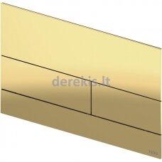 Metalinė vandens nuleidimo plokštelė TECEsquare II, poliruota Gold Optic, 9240839