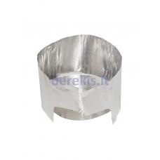 MSR karščio reflektorius / apsauga nuo vėjo