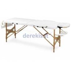 Nešiojamas masažo stalas Juventas DOPLO LM1, medinis