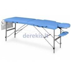 Nešiojamas masažo stalas Juventas DOPLO LM4, aliuminis