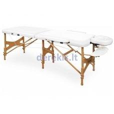 Nešiojamas masažo stalas Juventas ROYAL LM12, medinis