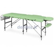 Nešiojamas masažo stalas Juventas TRIS LM7, aliuminis