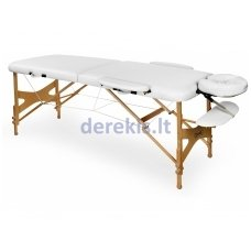Nešiojamas masažo stalas Juventas VIVA LM11, medinis