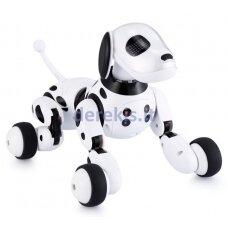 Nuotoliniu būdu valdomas šuo robotas