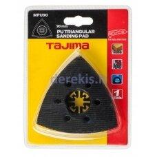 Padas lipniems lapeliams, trikampinis, multifunkciniam įrankiui 90mm Tajima