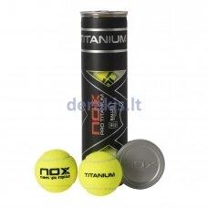 Padelio kamuoliukai NOX PRO TITANIUM 4vnt