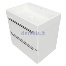 Pakabinama vonios spintelė su praustuvu OMNIRES DREAMSET, DREAMSET6030BP
