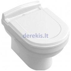 Pakabinamas klozetas su ceramicplus danga (be dangčio) Villeroy&Boch Hommage 6661B0R1