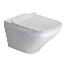 Pakabinamas WC puodas Duravit DuraStyle 2552090000 + 0063790000
