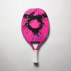 Paplūdimio teniso raketė - Tom Caruso Hulk 45 Pink