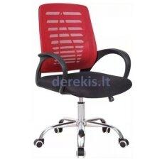 Pasukama biuro kėdė VANGALOO, raudona/juoda