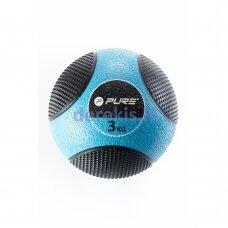 Pasunkintas medicininis kamuolys Pure2improve, 3 kg
