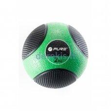 Pasunkintas medicininis kamuolys Pure2improve, 2 kg
