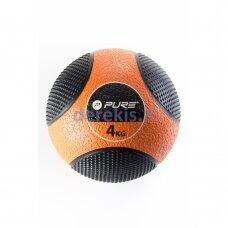 Pasunkintas medicininis kamuolys Pure2improve, 4 kg