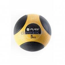 Pasunkintas medicininis kamuolys Pure2improve, 5 kg