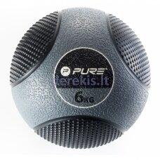 Pasunkintas medicininis kamuolys Pure2improve, 6 kg