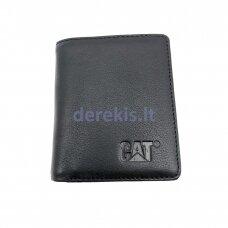 Piniginė kortelėms CAT Shale, juoda