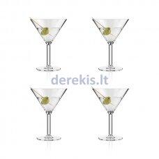 Plastikinės Martini taurės Bodum OKTETT 11928-10STR (4 vnt.)