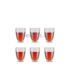 Plastikiniai kavos puodeliai Bodum PAVINA OUTDOOR 11849-10SA-12 (6 vnt.)