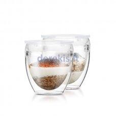 Plastikiniai kavos puodeliai Bodum PAVINA OUTDOOR K11848-10SA (2 vnt.)