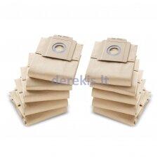 Popieriniai filtrai Karcher T 7/1 10VNT, 6.904-333.0