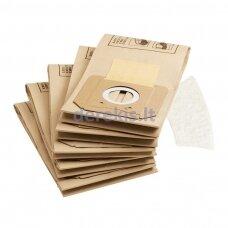 Popieriniai filtro maišeliai Karcher 6.904-263.0, 5vnt