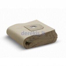 Popieriniai maišeliai dulkių siurbliui Karcher 6.907-019.0, 10vnt