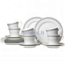 Porcelianinis indų rinkinys kavai Ritzenhoff & Breker Chalet, 18 dalių