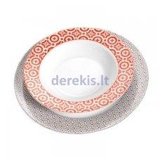 Porcelianinis lėkščių rinkinys Ritzenhoff & Breker Treviso, 12 dalių