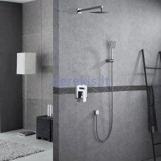 Potinkinė dušo sistema Blue Water Monaco MON-ZKP.150C+BW.KW.25 Ultra Slim, chromas
